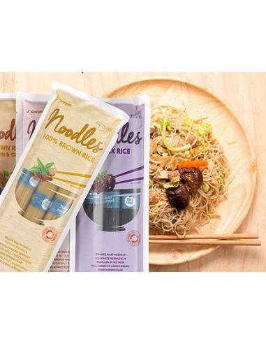 Noodles de Arroz Integral con Wakame