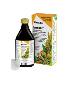 Epresat Multivit-Energie Salus Floradix frasco de 250 ml.