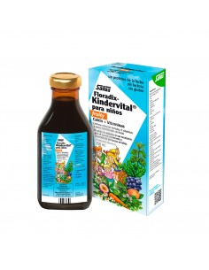 Floradix-Kindervital calcio + vitaminas Salus 250 ml