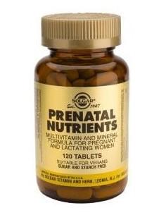Nutrientes Prenatales 60 comprimidos Solgar