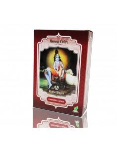 Tinte henna castaño - caoba de Radhe Shyam