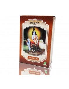 Tinte natural henna castaño claro Radhe Shyam