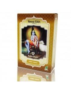 Tinte natural henna rubio ceniza Radhe Shyam