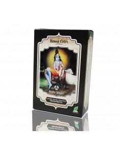 Tratamiento de Tinte natural henna Castaño Oscuro Profundo Radhe Shyam