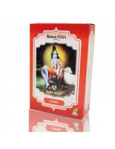 Tinte natural henna Caoba Radhe Shyam