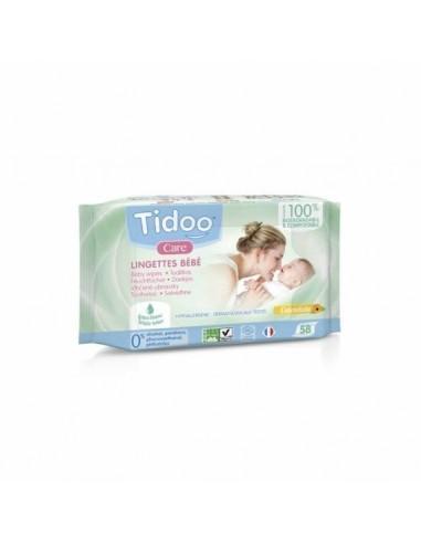 Toallitas desechables ecológicas con perfume Tidoo