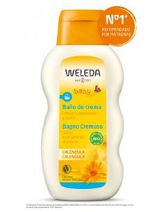 baño de crema con caléndula de Weleda