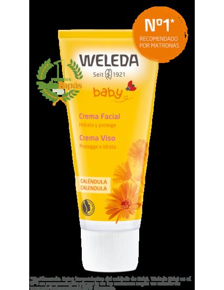 Crema facial para pieles sensibles de bebés y niños