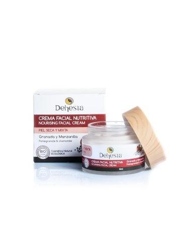 Crema Facial Nutritiva BIO con Granada y Manzanilla - Dehesia