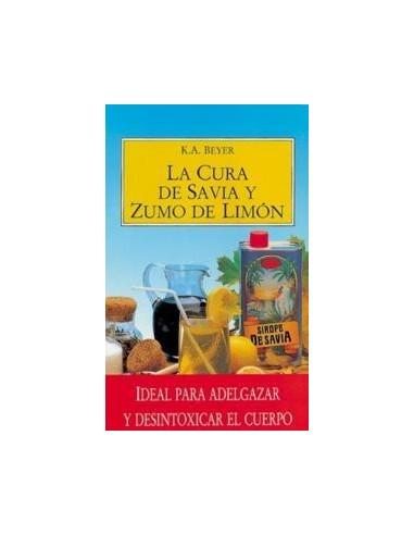 Libro La cura de savia y limón