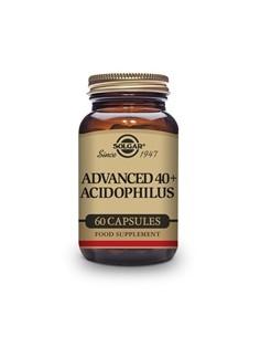 Acidophilus Avanzado 40+  Solgar  60 comprimidos