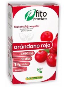 Arándano Rojo - fitocomplemento natural de Pinisan