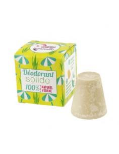 Desodorante sólido con aceite esencial de palmarosa
