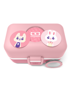 Fiambrera ecológica para niños monbento rosa