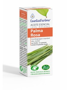 Aceite esencial de palmarosa BIO de Esential Aroms