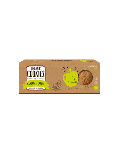 galletas de Manzana - Canela sin gluten zealia