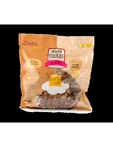 Pan integral sin gluten ecológico zealia