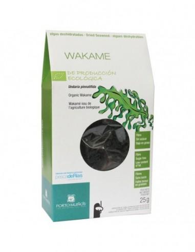 Wakame alga 25gr Porto Muiños