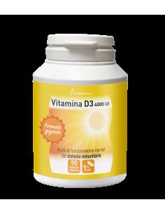 Vitamina D con 4000 UI de Plameca capsulas vegetales