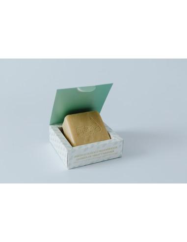 Jabón ecológico regenerador  Germen de trigo y naranja Alba Natura