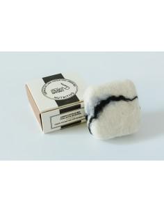 Esponja lana virgen con Jabón nutritivo BIO con leche de burra Alba Natura