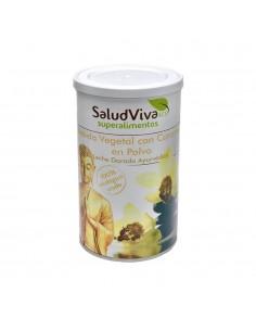 Bebida vegetal con cúrcuma en polvo ecológica 320gr Salud Viva