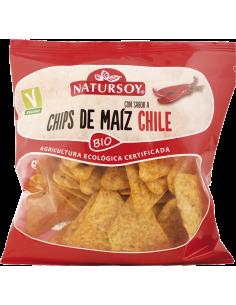 Chips de Maíz con sabor Chile BIO Natursoy