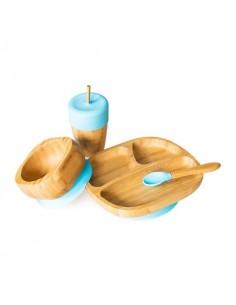 Set Vajilla de Bambú de Eco Rascals para niños