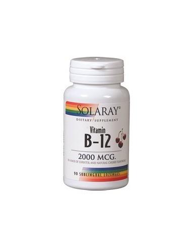 Vitamina B 12 2000 mcg 90 comprimidos...