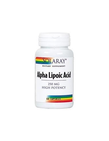 Alpha Lipoic Acid 250 mg 60 cápsulas...
