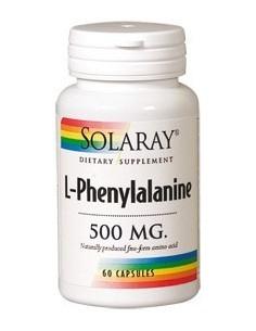 L-Phenylalanine 500 mg 60 cápsulas Solaray