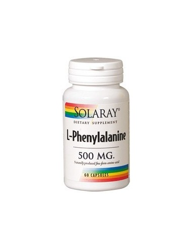 L-Phenylalanine 500 mg 60 cápsulas...