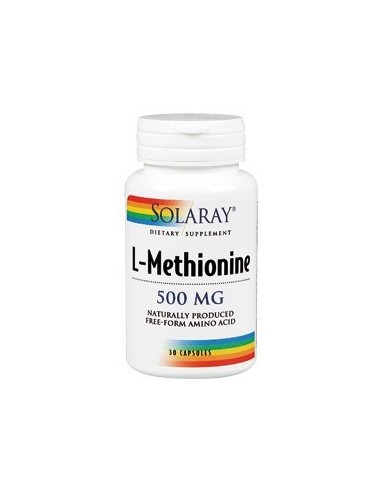 L-Methionine 500 mg 30 cápsulas Solaray
