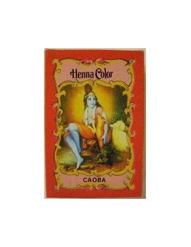 Henna Caoba polvo Radhe Shyam