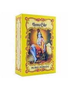 Henna Rubio Dorado polvo...