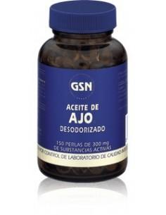 Aceite de Ajo Desodorizado de GSN 150 perlas