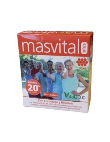 MASVITAL PLUS 20+4 sobres Vital 2000