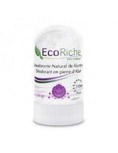 Desodorante natural en piedra de alumbre Ecoriche