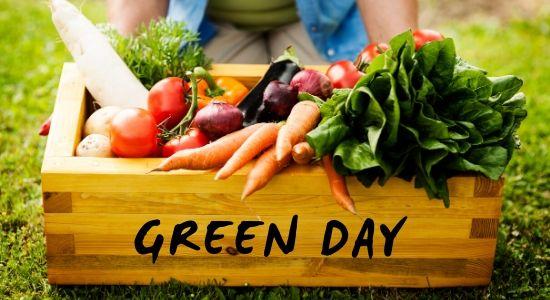Green day comercio sostenible